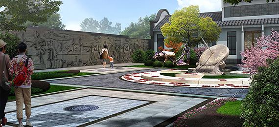 山东邹城文化博览园美丽乡村项目