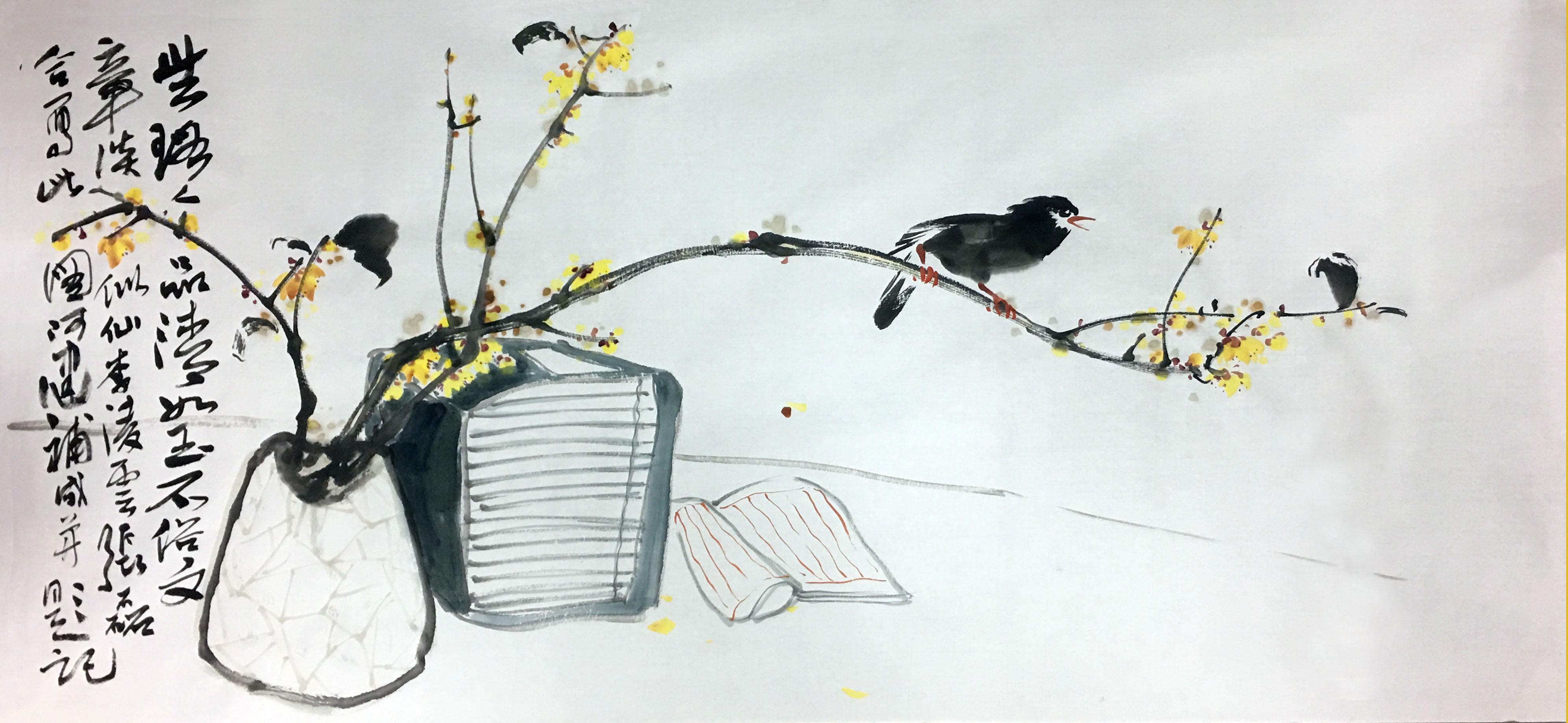 东方vwin德赢娱乐官网团队与当代书画名家陈健先生共同探讨美学话题